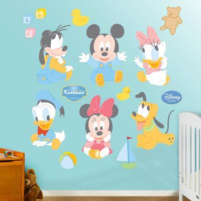Baby Mickey Mouse. Wall Decal Part 87