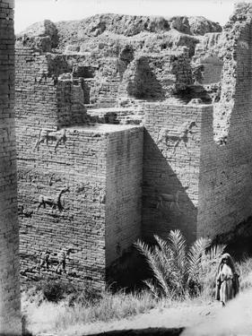 Babylon, The Ishtar Gate, Iraq, c.1932