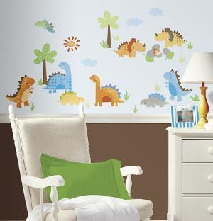 Babysaurus Peel & Stick Wall Decal