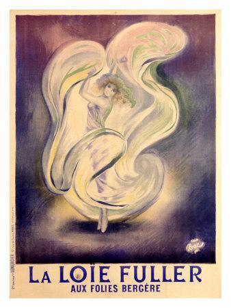 Loie Fuller Folies Bergere