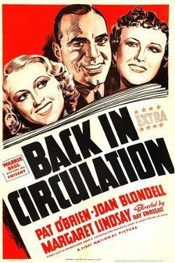 Back in Circulation, Joan Blondell, Pat O'Brien, Margaret Lindsay, 1937