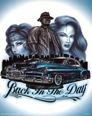 Back in the Day (Classic Cars) Art Print Poster