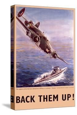 Back Them Up! Capture of a Submarine by a Lockheed Hudson
