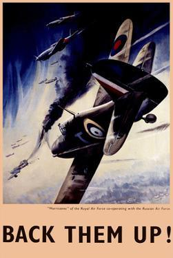 Back Them Up! RAF Hurricanes Working with Russian Air Force