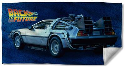 Back To The Future - Delorean Beach Towel