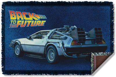 Back To The Future - Delorean Woven Throw