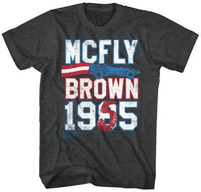 Back To The Future- Mcfly Brown Ticket