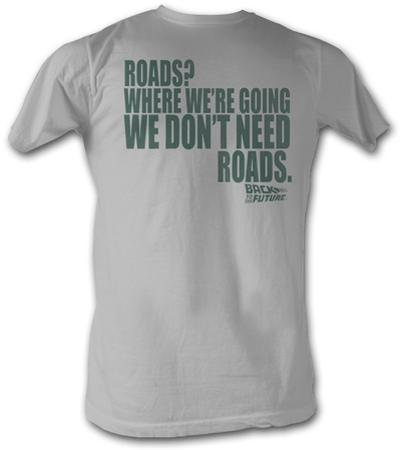 Back To The Future - Roads Silver