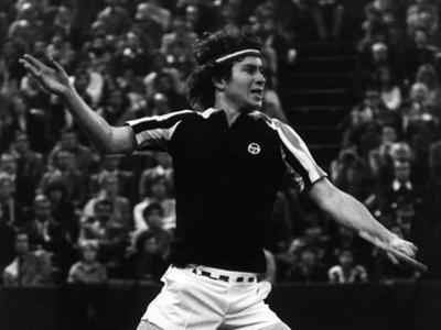 Backhand Volley by John Mcenroe