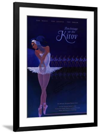 Backstage at the Kirov--Framed Poster