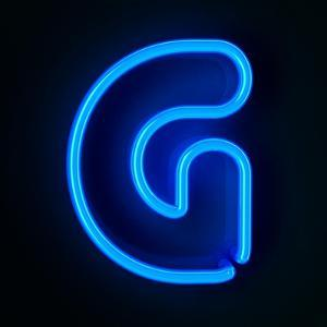 Neon Sign Letter G by badboo