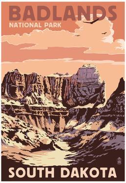 Badlands National Park, South Dakota - Castle Rock