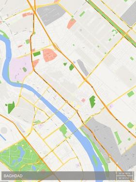 Baghdad, Iraq Map