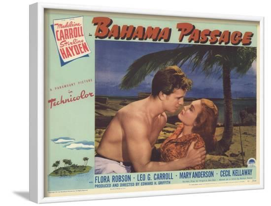 Bahama Passage, 1941--Framed Art Print