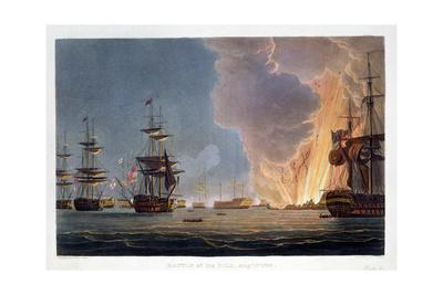 The Battle of the Nile, 1st August 1798 (1816)