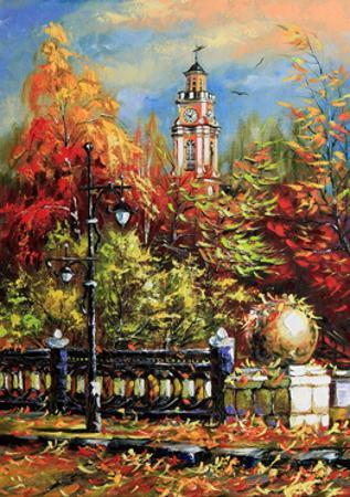 Ancient Vitebsk In The Autumn by balaikin2009
