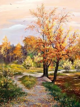Autumn Landscape by balaikin2009