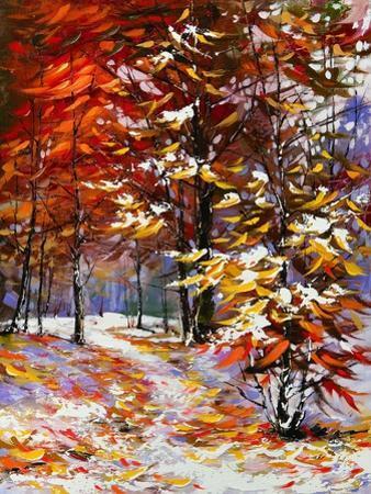 Road To Autumn Wood by balaikin2009