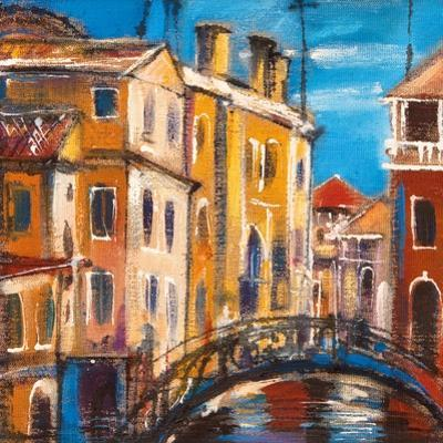 The Bridge From Ancient Venice by balaikin2009