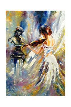The Girl Playing A Violin by balaikin2009
