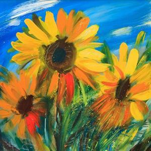 The Sunflowers by balaikin2009