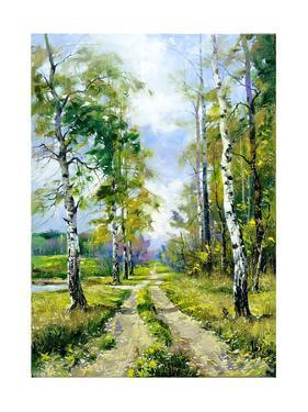 Wood Road by balaikin2009
