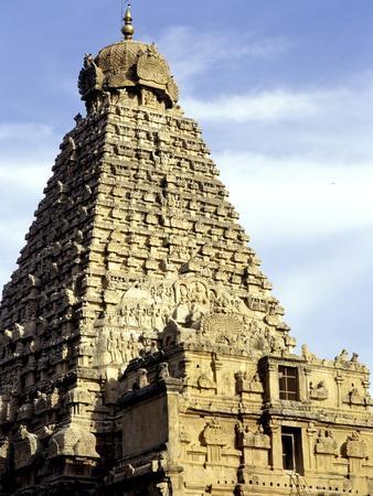 Brahadeeshwara Temple, UNESCO World Heritage Site, Thanjavur, Tamil Nadu, India, Asia