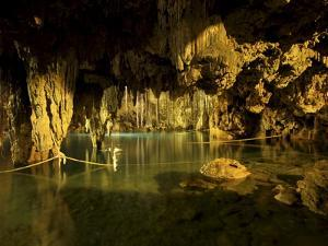 Cenote Dzitnup, Underground Sinkholes Which Has Only One Natural Source of Light, Yucatan, Mexico by Balan Madhavan