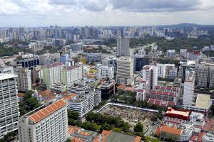 Cityscape, Singapore, Southeast Asia, Asia by Balan Madhavan