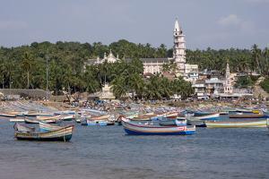Fishing Boats, Vizhinjam, Trivandrum, Kerala, India, Asia by Balan Madhavan