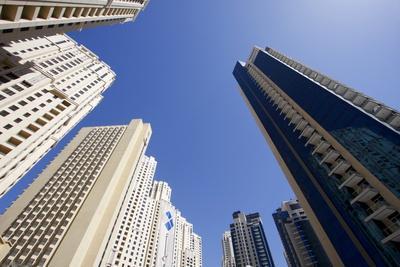 High Rise Buildings, Dubai, United Arab Emirates, Middle East