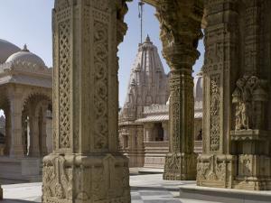 Jain Temple, Satrunjaya, Gujarat, India by Balan Madhavan
