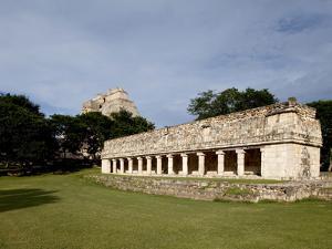 Mayan Ruins of Uxmal, UNESCO World Heritage Site, Yucatan, Mexico, North America by Balan Madhavan
