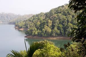 Neyyar Reservoir and Wildlife Sanctuary, Trivandrum, Kerala, India, Asia by Balan Madhavan
