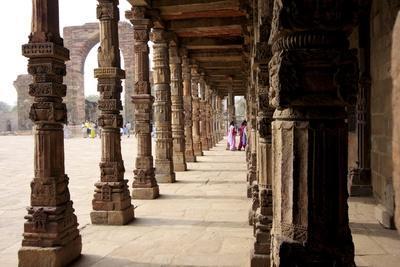 Qutub Complex, UNESCO World Heritage Site, Delhi, India, Asia