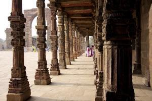 Qutub Complex, UNESCO World Heritage Site, Delhi, India, Asia by Balan Madhavan