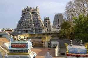 Ranganathaswamy Temple, Srirangam, Near Thiruchirapalli, Tamil Nadu, India, Asia by Balan Madhavan