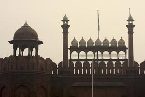 Red Fort, UNESCO World Heritage Site, Delhi, India, Asia by Balan Madhavan