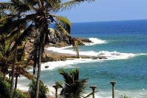Suryasamudra Beach Resort, Kovalam, Trivandrum, Kerala, India, Asia by Balan Madhavan