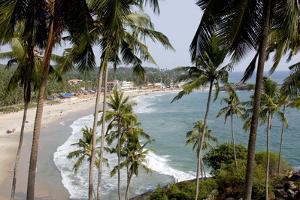 View of Kovalam Beach, Trivandrum, Kerala, India, Asia by Balan Madhavan