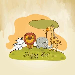 Happy Zoo by Balasoiu