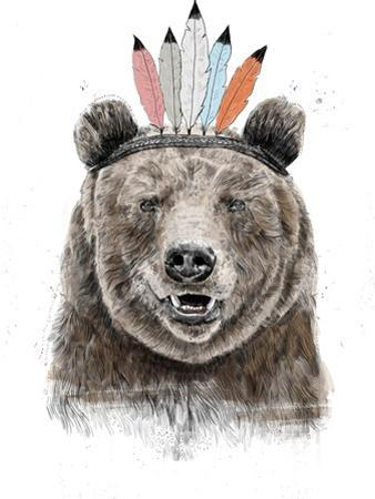 Festival Bear by Balazs Solti