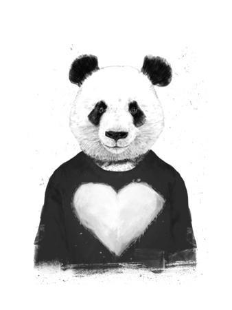 Lovely Panda by Balazs Solti