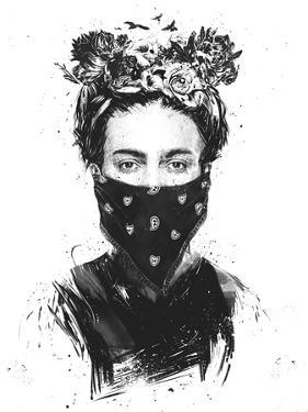 Rebel Girl by Balazs Solti