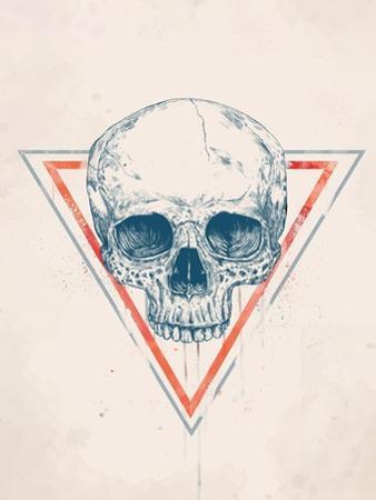 Skull in Triangle No. 2 by Balazs Solti