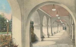 Balboa Park Colonnade, San Diego, California