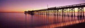 Balboa Pier at Sunset, Newport Beach, Orange County, California, Usa