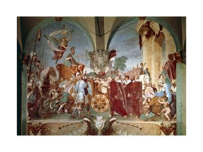 Cosimo I Entering Siena, 1636