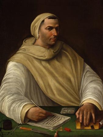 Portrait of an Olivetan Monk by Baldassarre Peruzzi
