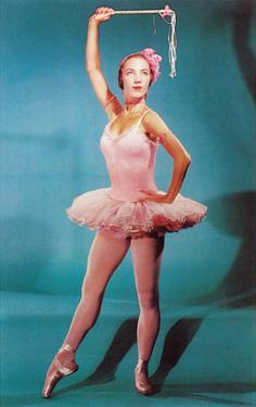 Ballerina in Pink, Retro